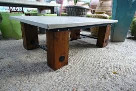 concrete top outdoor table cement top outdoor table concrete table livingston high