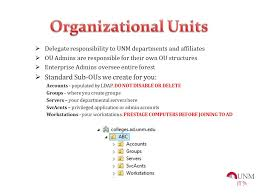windows enterprise services introductions unm directory