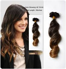 hair color dark on top light on bottom blog vpfashion top 8 best selling cheap clip in ombre human hair