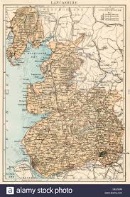 Map Of Ancient Italy by Map Of Lancashire England 1870s Stock Photo Royalty Free Image