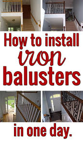 How To Put Up A Handrail 84 Best Staircase Makeovers Images On Pinterest Stairs