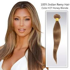 honey weave 16 honey 27 indian remy hair weaving ws051