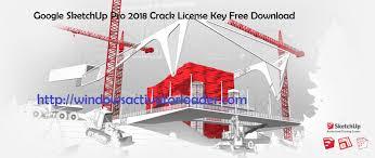 google sketchup pro 2018 license key free download