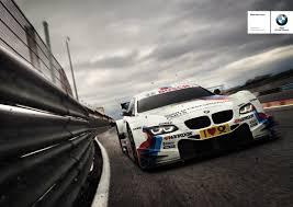 bmw motorsport dtm makes its bmw motorsport advertising done right