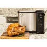 butterball xl butterball xl indoor electric turkey fryer 20 lb capacity with