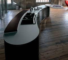 curved island kitchen designs modern curved kitchen island interior design