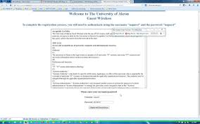 guest wireless the university of akron support wiki