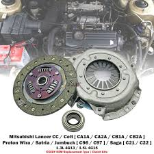 1 set exedy oem clutch kit for mitsubishi lancer mirage 4g13 4g15