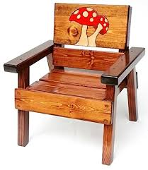 Wood Patio Chairs Painted Wood Patio Furniture Kids Chair Indoor Painted Wood