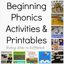beginning phonics activities u0026 printables klp linky party