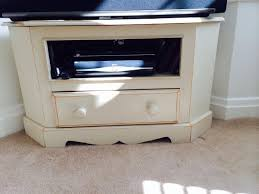 used cream wood shabby chic tv stand unit in n20 london for