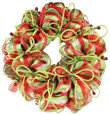 deco mesh wreath 8019