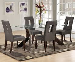 glass dining room table set glass dining room table set home design ideas