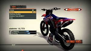 graphics for motocross bikes mx vs atv reflex new graphics u0026 my bike settings youtube