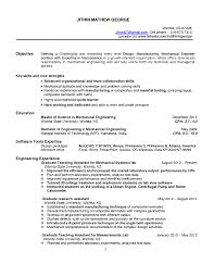 manufacturing engineer resume sample technical resume