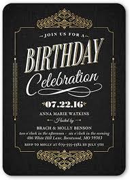 black birthday greetings shutterfly