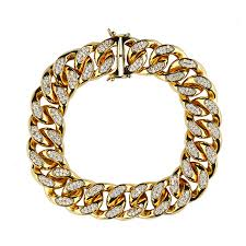 chain diamond bracelet images Hiphop jewelry men14k gold chain gold cuban link chains designer jpg