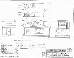 Floating Home Floor Plans Cape Codder Cape Codder Houseboat Cape Codder Houseboat Plans