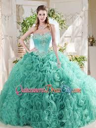 unique quinceanera dresses luxurious rolling flower big mint unique quinceanera dress