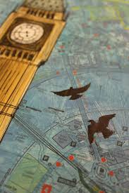 London On Map Big Ben London On Map Degreeart Com The Original Online Art Gallery