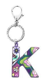 initial keychain vera bradley i don u0027t usually like her stuff but