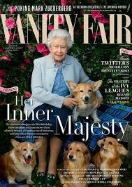 Vanity Drug Use Queen Elizabeth Ii And Her Corgis Cover Vanity Fair Time
