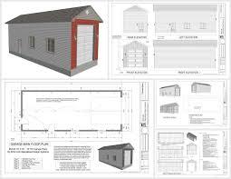 Rv Garage With Apartment G546 18 X 45 X 16 Rv Garage Sds Plans