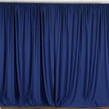 stage backdrops 10ft navy polyester curtain stage backdrop partition premium