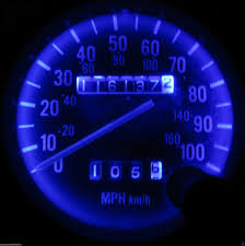 jeep wrangler speedometer jeep wrangler yj 1987 1995 super blue led asap speedo