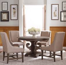 kincaid furniture greyson five piece grant round table and lawson