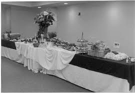 how to set a buffet table with chafing dishes hospitality