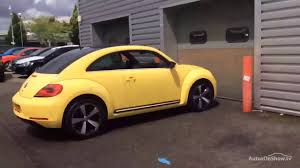 volkswagen yellow volkswagen beetle sport tdi dsg yellow 2013 youtube