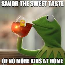 No Kids Meme - but thats none of my business meme imgflip