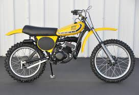 yamaha yz125 1976 restored classic motorcycles at bikes