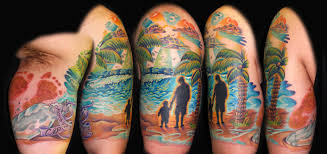 palm tree tattoos inspiring tattoos