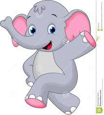 funny elephant cartoon stock photos image 36081593