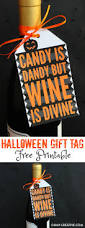 halloween gift tag free printable halloween phrases dandy and