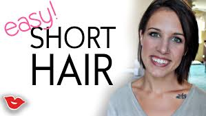 three easy hairstyles for short hair jaimie from millennial