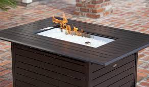 How To Build A Propane Fire Pit Fire Sense Extruded Aluminum Propane Fire Pit Table U0026 Reviews