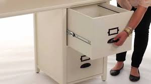 organize files and folders with this stylish file cabinet desk pbteen you