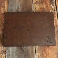 large walnut personalized end grain cutting board custom walnut large walnut personalized end grain cutting board custom walnut carving board manly cutting board large butcher block