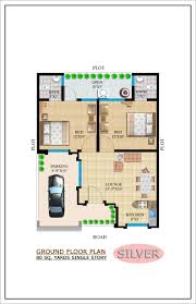 Single Story House Plans With 2 Master Suites Architecture Kerala 1000 Sqft Single Storied House Plan And