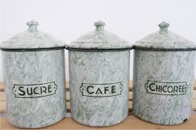Retro Kitchen Canisters by 100 Kitchen Canisters Green 100 Stoneware Kitchen Canisters