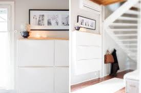 Furniture For Entryway 15 Ikea Hacks For Small Entryways