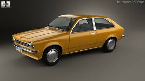1970 opel kadett 360 view of opel kadett city 1975 3d model hum3d store