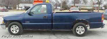 2002 chevrolet silverado 1500 pickup truck item db0708 s