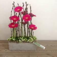 parallel bloemstuk floral arrangements pinterest flower