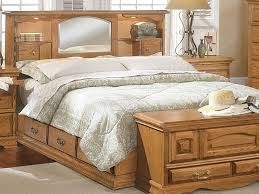 King Bed Storage Headboard by Headboard King Storage Bed With Upholstered Headboard Nostalgia