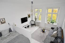 Clever Interior Design Ideas Scandinavian Apartment Makes Clever Use Of Small Space