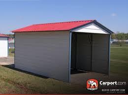 1 car metal carport 12 u0027 x 21 u0027 with vertical roof metal carport